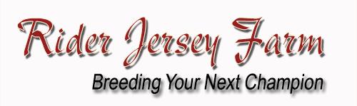 Rider Jersey Farm Logo